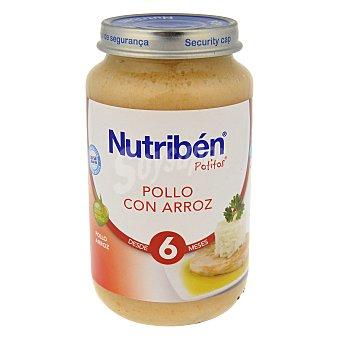 Nutribén Potito pollo con arroz 250 g