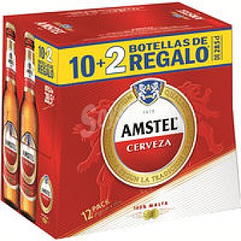 Amstel Cerveza 10+2 x 28,5cl