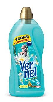 Vernel Suavizante Concentrado Frescor Agua marina 76 lavados