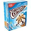 Classico cono de helado de nata con barquillo y chocolate estuche 360 ml 4 unidades Frigo Cornetto