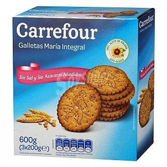 Carrefour Galletas integrales María sin sal y sin azúcar 600 G 600 g