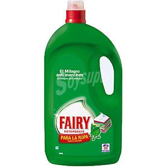Fairy detergente máquina liquido para la ropa botella 52 dosis