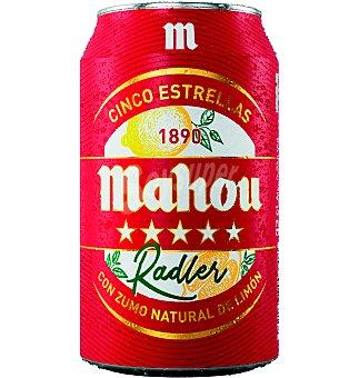 Mahou Cerveza Radler Lata 33 cl