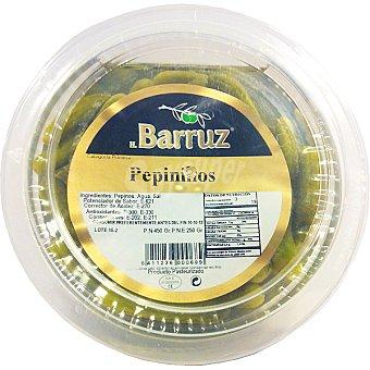 Barruz Pepinillos extra Envase 250 g neto escurrido
