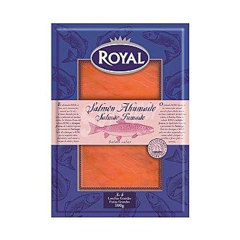 Royal Salmón ahumado en lonchas grandes Envase 100 g