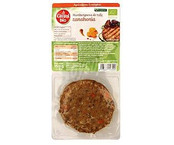 CEREAL BIO Hamburguesa ecológica de tofu con zanahorias 2 unidades de 80 gramos