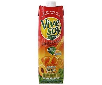 Vivesoy de Pascual Zumo de melocotón con soja Prisma 1 litro