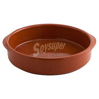 ARC Cazuela de barro redonda 24 cm en color marrón