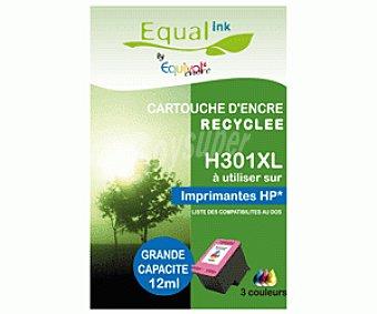 Equalink Cartuchos Reciclados de Tinta H301XL Tricolor 1u