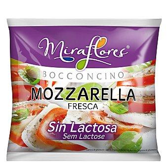 FLOR DE BURGOS Mozzarella fresca sin lactosa Envase de 125 g