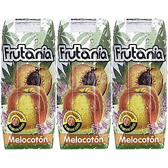 Frutania Néctar de melocotón Pack 3 envases 250 ml