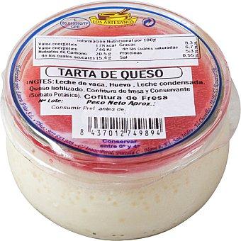 Los artesanos Tarta de queso  envase 125 g