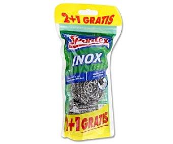 Spontex Estropajo metálico Inox 3 Unidades