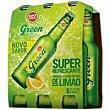 Cerveza sabor limón Pack 6 x 33 cl Superbock