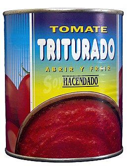 Hacendado Tomate natural triturado Bote 800 g