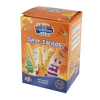 Carrefour Kids Snack Super Zapitos Pack de 10x5 g