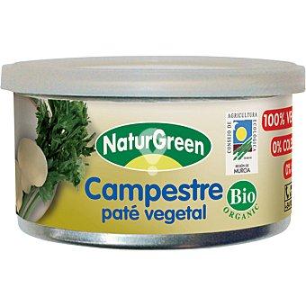 Paté vegetal campestre ecológico