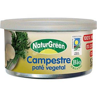 Naturgreen Paté vegetal campestre ecológico Tarrina 125 g