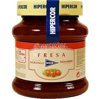 Hipercor Mermelada de fresa Frasco 350 g