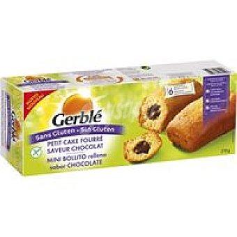 Gerblé Bollito relleno crema chocolate sin gluten 210 g