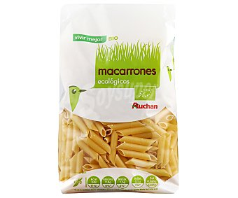 Auchan Macarrones Ecológico 500g