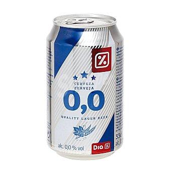 DIA Cerveza 0,0% alcohol Lata 33 cl
