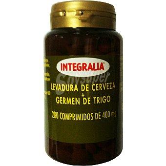 INTEGRALIA Levadura de cerveza y germen de trigo en comprimidos Envase 280 unidades