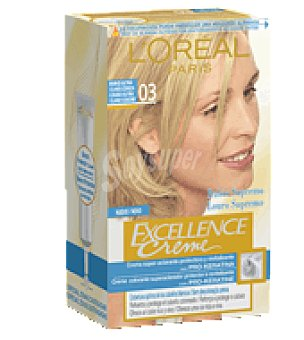 Excellence L'Oréal Paris Tinte creme Blonde Supreme nº 2 Rubio Ultra Claro Ceniza 1 ud
