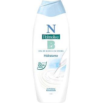 NB Palmolive gel de baño hidratante en crema con proteínas puras de leche Bote 600 ml