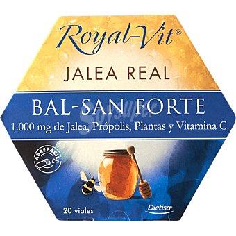 ROYAL-VIT Bal-San Forte Jalea própolis planta y vitamina C estuche 20 ampollas