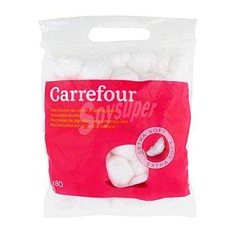 Carrefour Bolas de algodón 80 ud