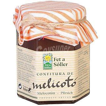 Fet a Soller Confitura de melocoton Frasco 225 g