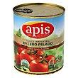 Tomate natural entero pelado Lata 780 g Apis