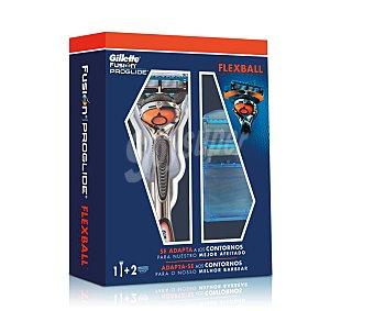 Gillette Maquinilla de afeitar recargable, 5 hojas más dos recambios 1 unidad