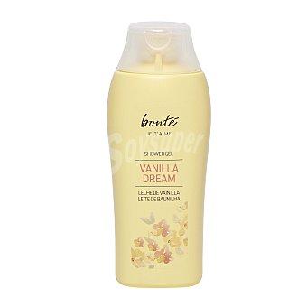 Bonté Gel de baño leche de vainilla Botella de 300 ml