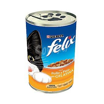 Purina Felix Comida para gatos con Pollo y Pato 390 g