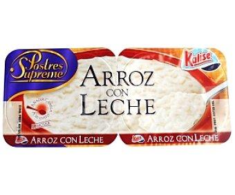 Kalise Arroz con Leche 2x135g