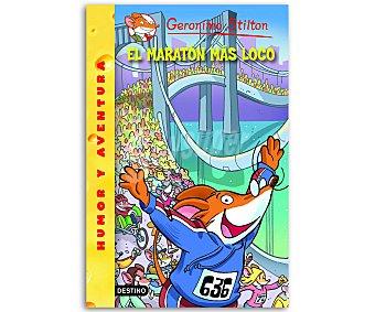 Destino Gerónimo Stilton 45: El maratón más loco, vv.aa, Género: infantil, editorial: Destino, Descuento ya incluido en pvp. PVP anterior: 45: El maratón..