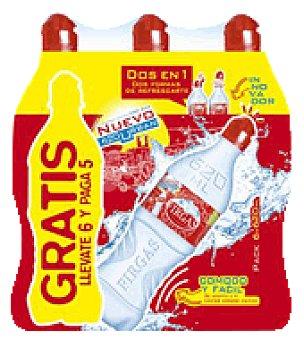 Firgas Agua mineral con gas Pack 6x620 ml