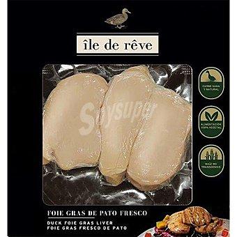 Ile de reve Escalope de foie fresco de pato Unidad 100 g