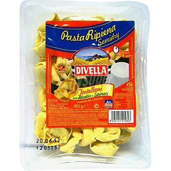 DIVELLA Tortelloni con ricota & spinaci Paquete 250 g