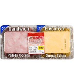 Abrilisto Sandwich ejecutivo (paleta cocida y queso Edam) Envase de 200 g