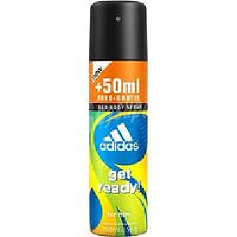 Adidas Desodorante Get Ready Body Spray 200 ml