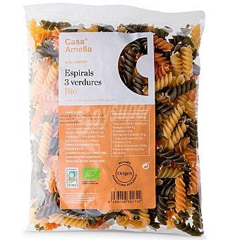 Casa Amella Pasta espirales 3 verduras 250 g