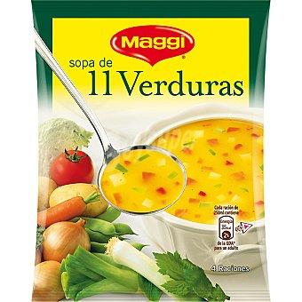 Maggi Sopa de 11 verduras sobre 76 g