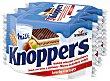 Pastelitos con leche y avellanas  75 g KNOPPERS