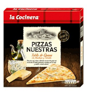 La Cocinera Pizza tabla de quesos 290 g