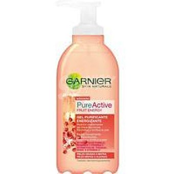 Skin Naturals Garnier Gel Energy Pure Fruit Dosificador 200 ml