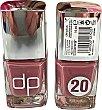 Laca uñas Nº 20 rosa 1 unidad Deliplus