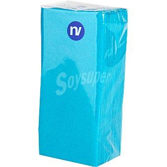 NV CORPORACION Servilletas color celeste 38x33 cm paquete 20 unidades Paquete 20 unidades